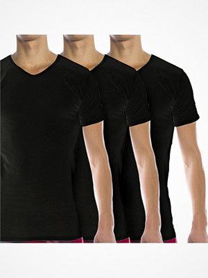 Tommy Hilfiger 3-pack V-neck T-shirt Black