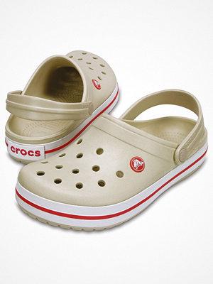 Tofflor - Crocs Crocband Unisex Ivory