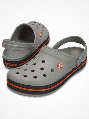 Tofflor - Crocs Crocband Unisex Grey/Blue