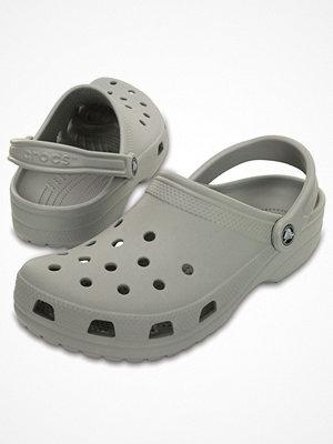 Tofflor - Crocs Classic Unisex Light grey