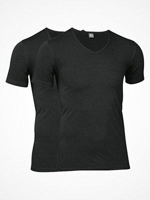 T-shirts - JBS 2-pack Modern T-shirt V-neck Black
