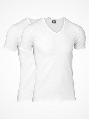 T-shirts - JBS 2-pack Modern T-shirt V-neck White