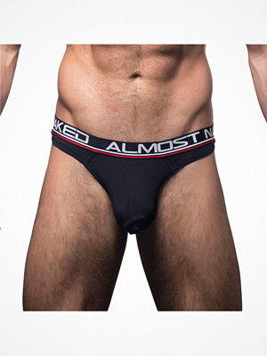 Kalsonger - Andrew Christian Almost Naked Tagless Thong Black