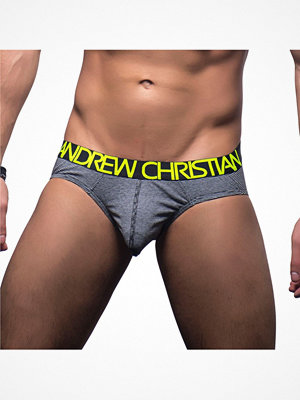 Kalsonger - Andrew Christian Happy Brief Limited Edition Black striped