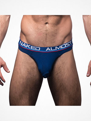 Kalsonger - Andrew Christian Almost Naked Tagless Thong Navy-2