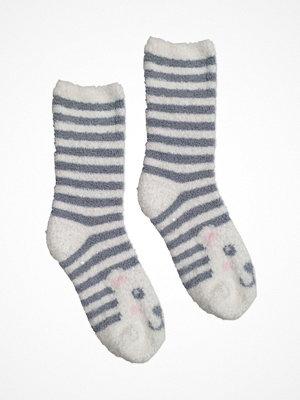 P-J Salvage Fun Socks Polar Bear Grey