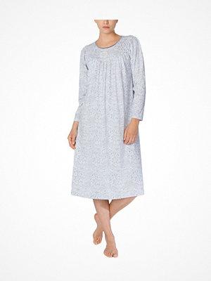 Nattlinnen - Calida Soft Cotton Nightdress 33000 Paisley Silver