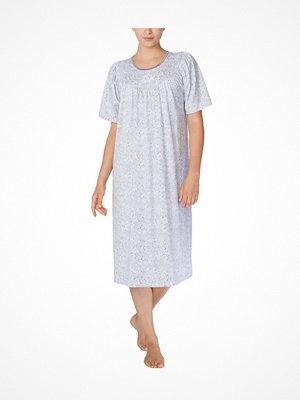 Nattlinnen - Calida Soft Cotton Nightdress 34000 Paisley Silver