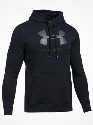 Pyjamas & myskläder - Under Armour Rival Fleece Fitted Graphic Hoodie  Black