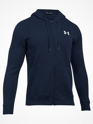 Pyjamas & myskläder - Under Armour Rival Fleece Fitted Ful Zip Hoodie Navy-2