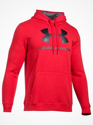Pyjamas & myskläder - Under Armour Rival Fleece Fitted Graphic Hoodie  Red