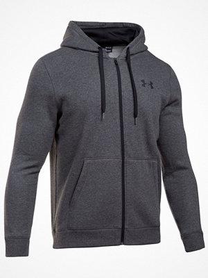 Pyjamas & myskläder - Under Armour Rival Fleece Fitted Ful Zip Hoodie Grey