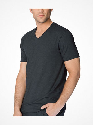 Calida Remix Basic Function V-Shirt Darkgrey