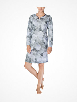 Calida Emily Nightdress Blue Pattern