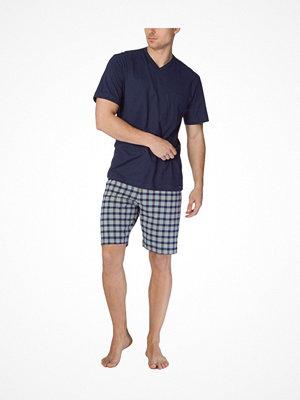 Pyjamas & myskläder - Calida Men Bill Short Pyjama Darkblue