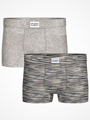 Frank Dandy 2-pack Bamboo Trunks Greymarl