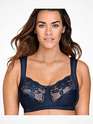 Miss Mary of Sweden Miss Mary Elastic Lace Bra Darkblue
