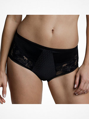 Miss Mary of Sweden Miss Mary Elastic Lace Maxi Brief Black