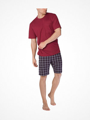 Pyjamas & myskläder - Calida Men Patrick Short Pyjama Red