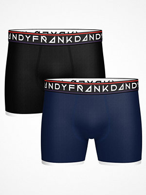Frank Dandy 2-pack St Paul Bamboo Boxer Black/Blue