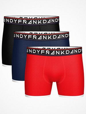 Frank Dandy 3-pack St Paul Bamboo Boxers Multi-colour