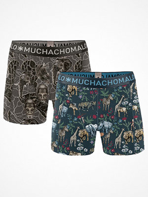Muchachomalo 2-pack Afri Boxer Blue/Brown