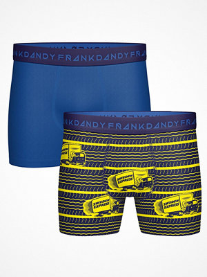 Frank Dandy 2-pack Sweden Express Boxers Blue Pattern