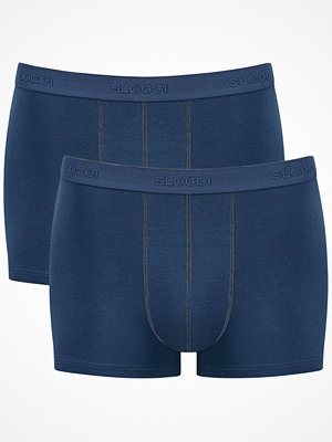 Sloggi 2-pack Men 24 7 Short Blue