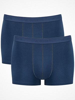 Sloggi 2-pack Men 24 7 Short Blue