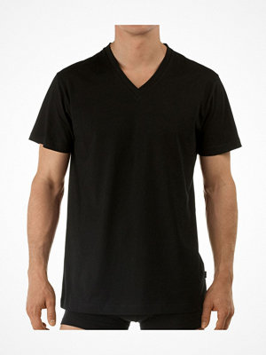 Calida Activity Cotton T-shirt V-neck Black