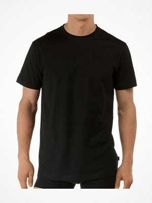 Calida Activity Cotton T-shirt Crew Neck Black