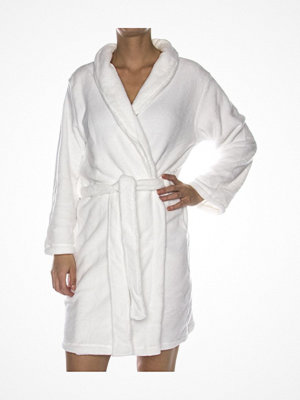 Missya Cornflocker Fleece Robe Short White