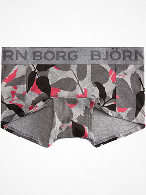 Björn Borg Autumn Leaf Mini Shorts Grey
