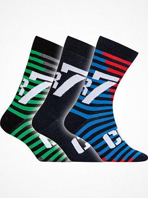 CR7 Cristiano Ronaldo 3-pack Boys Socks Blue/Green