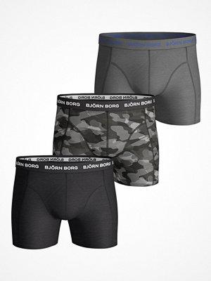 Björn Borg 3-pack Essential Camoline Shorts Black pattern-2