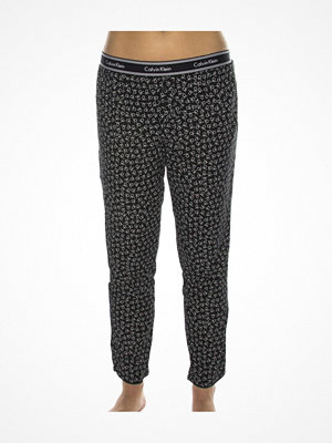 Calvin Klein Wovens Cotton Bottom Pant Black pattern-2