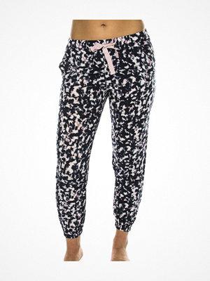 Pyjamas & myskläder - Calvin Klein Wovens Viscose Bottom Pant Jogger Pink Pattern