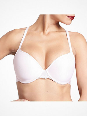 BH - Chantelle Everyday Lace Memory Form Plunge Bra Lightpink
