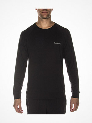 Pyjamas & myskläder - Calvin Klein Long Sleeve Sweatshirt Black