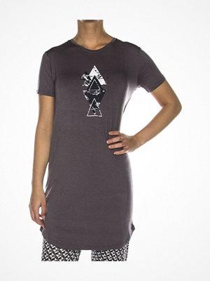 Femilet Lima Big Shirt Short Sleeve Warmgrey