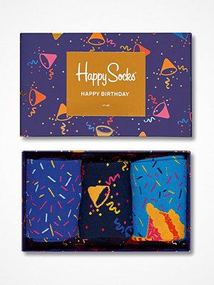 Strumpor - Happy Socks 3-pack Happy Socks Birthday Gift Box Multi-colour