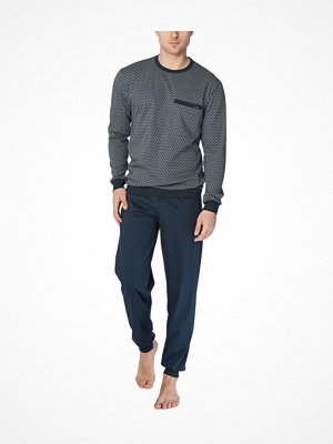 Pyjamas & myskläder - Calida Men Robert Pyjama Blue Pattern