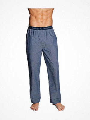 Pyjamas & myskläder - Gant Pyjamas Pants Oxford Blue
