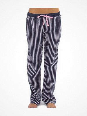 Pyjamas & myskläder - Rayville Womens Pj Pants Chrissie Navy Striped