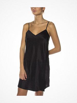 Nattlinnen - Damella 44001 Nightdress Black