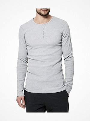 Pyjamas & myskläder - Bread and Boxers Henley Grey