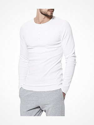 Bread and Boxers Henley White