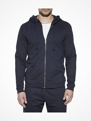 Pyjamas & myskläder - Bread and Boxers Men Hoodie Navy-2