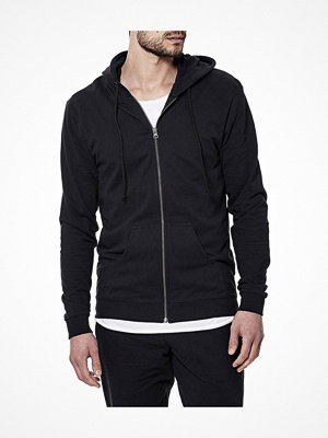 Pyjamas & myskläder - Bread and Boxers Men Hoodie Black