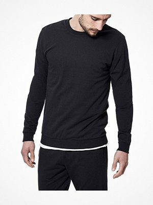Pyjamas & myskläder - Bread and Boxers Sweatshirt Black